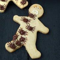 """""""Атака пауков"""" - имбирное печенье с шоколадом"""