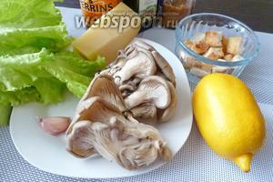 Гриб цезарь рецепт. Салат цезарь с грибами. Делаем вкусный цезарь с курицей и грибами пошагово
