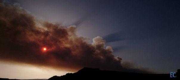 Arde mi isla. Incendio en Gran Canaria.