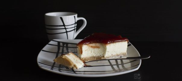 tarta fría de queso