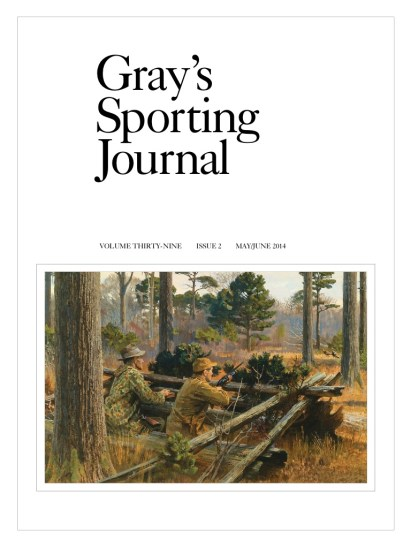 Gray's Sporting Journal featured artist, Ed Anderson