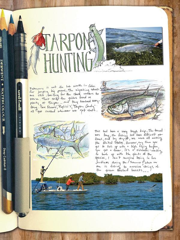 hunting Tarpon in Cuba