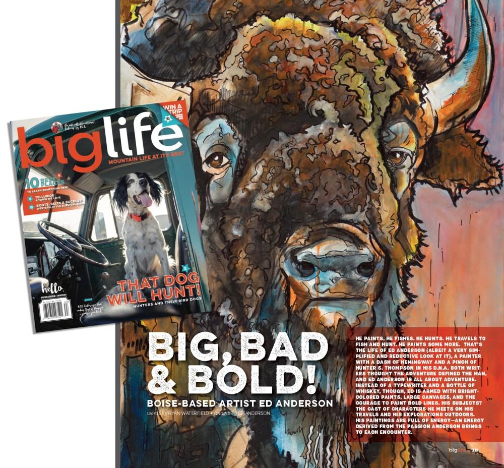 ed anderson art biglife magazine