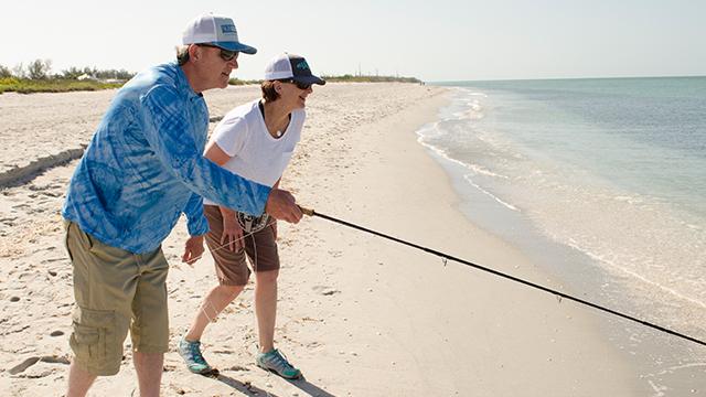 beach fishing florida