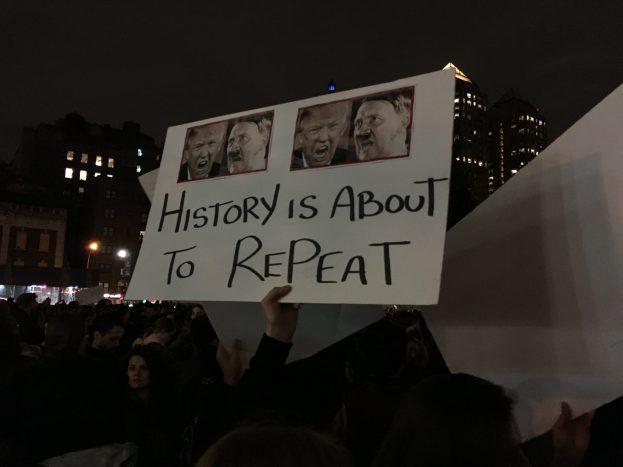 Trumpivastane protestimarss New Yorkis I Foto: Alex Ljadov (erakogu)