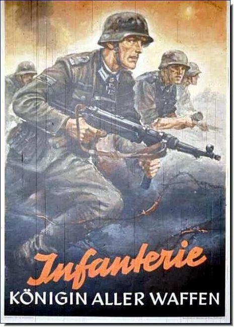 Nazi propaganda poster I Foto: Pinterest