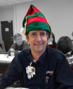 'Pat in a Hat' - the Director of Research and Innovation puts his thinking cap on!