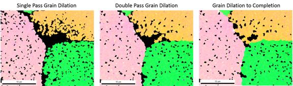 Figure 8: Grain Dilation.
