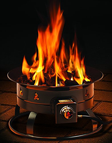 Outland Firebowl 823 Outdoor Portable Propane Gas Fire Pit ... on Outland Gas Fire Pit id=43885
