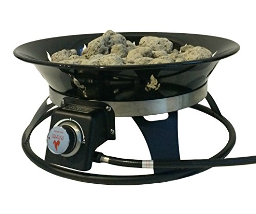 Outland Firebowl 863 Cypress Outdoor Portable Propane Gas ... on Outland Gas Fire Pit id=47742