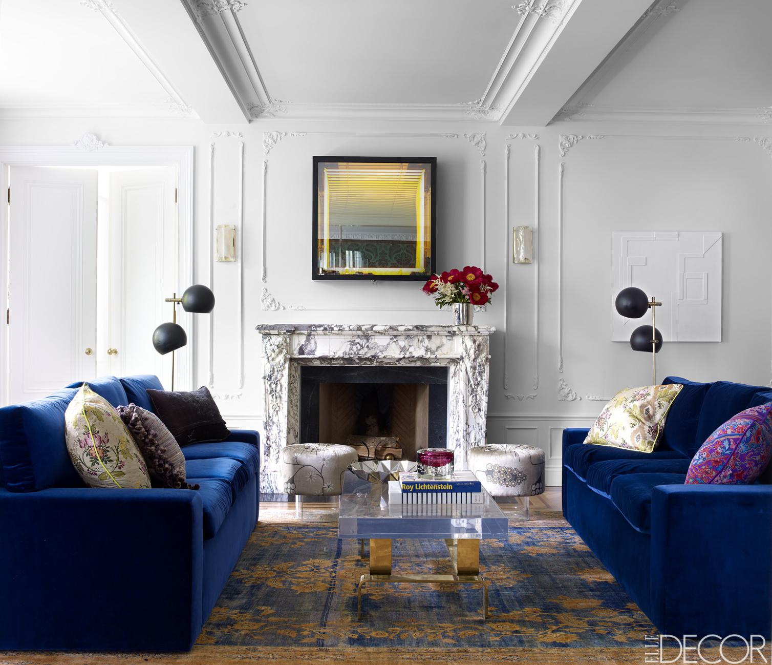 Room Decor Inspiration - ELLE DECOR's Most Popular Rooms on Living Room:5J0Grrq-Soy= Curtains Design  id=36978
