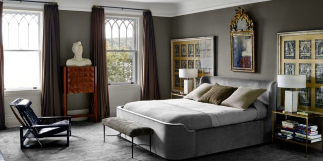 15 Grey Bedrooms With Stylish Design - Gray Bedroom Ideas