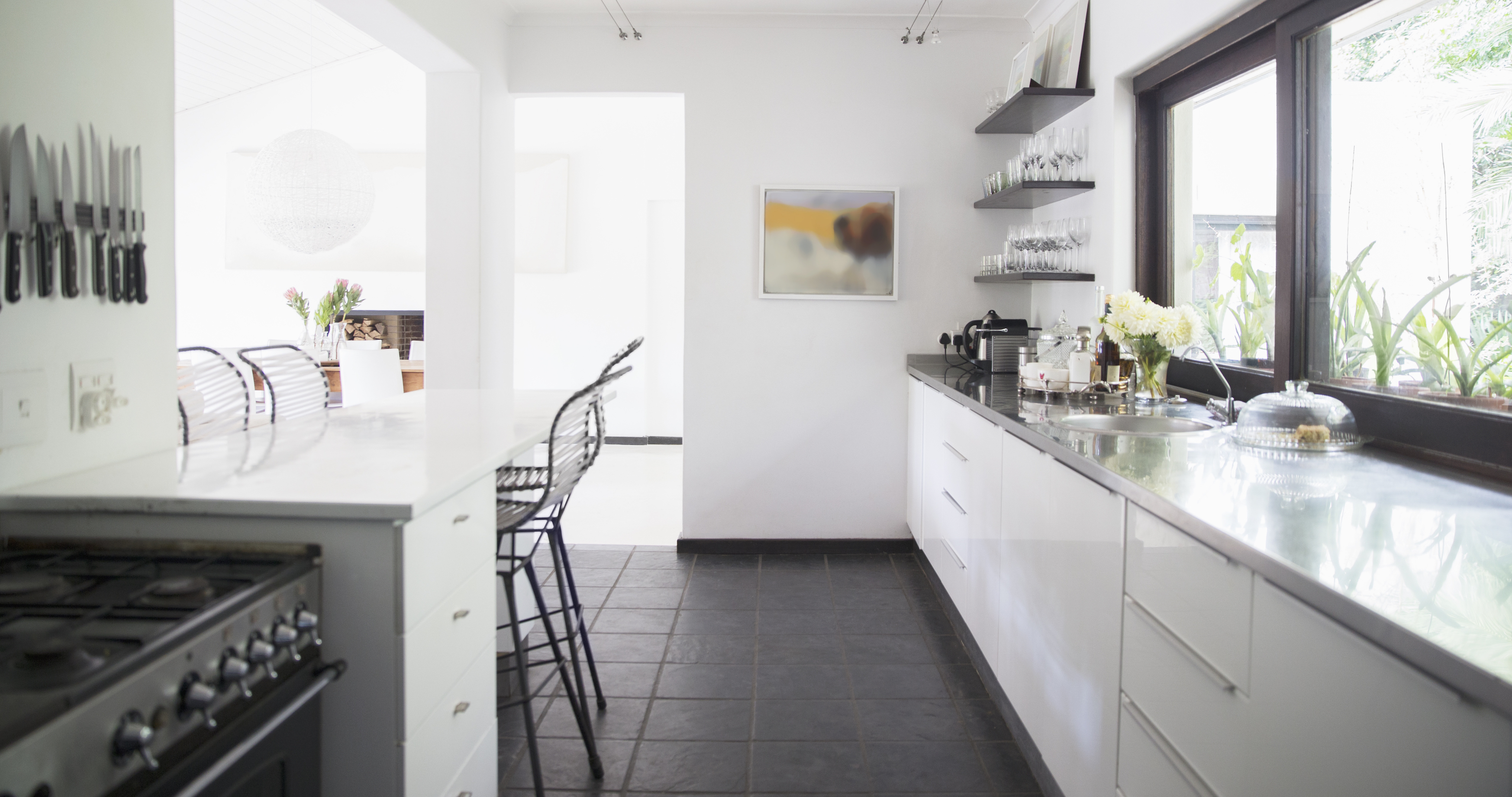 17 Galley Kitchen Design Ideas - Layout and Remodel Tips ... on Kitchen Redesign Ideas  id=41600