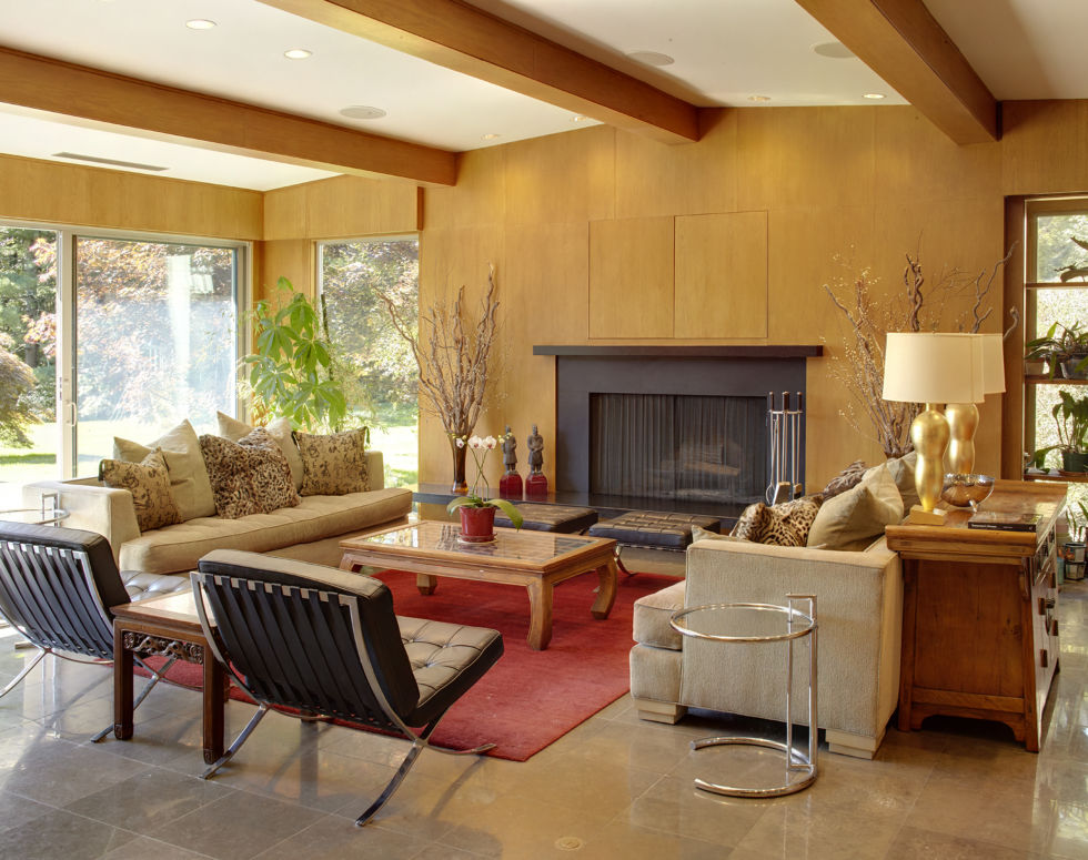 10 Mid Century Living Rooms Best Midcentury Modern Family Rooms