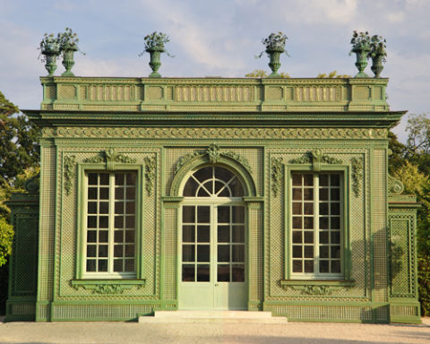 The restored Pavillon Frais at Versailles.