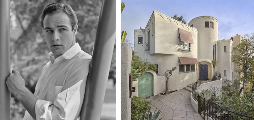 Marlon Brandos Hollywood Home For Sale See Inside One Of Marlon Brandos Houses