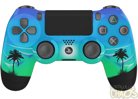 Moonlight Oasis Playstation 4 Custom Controllers Controller Chaos