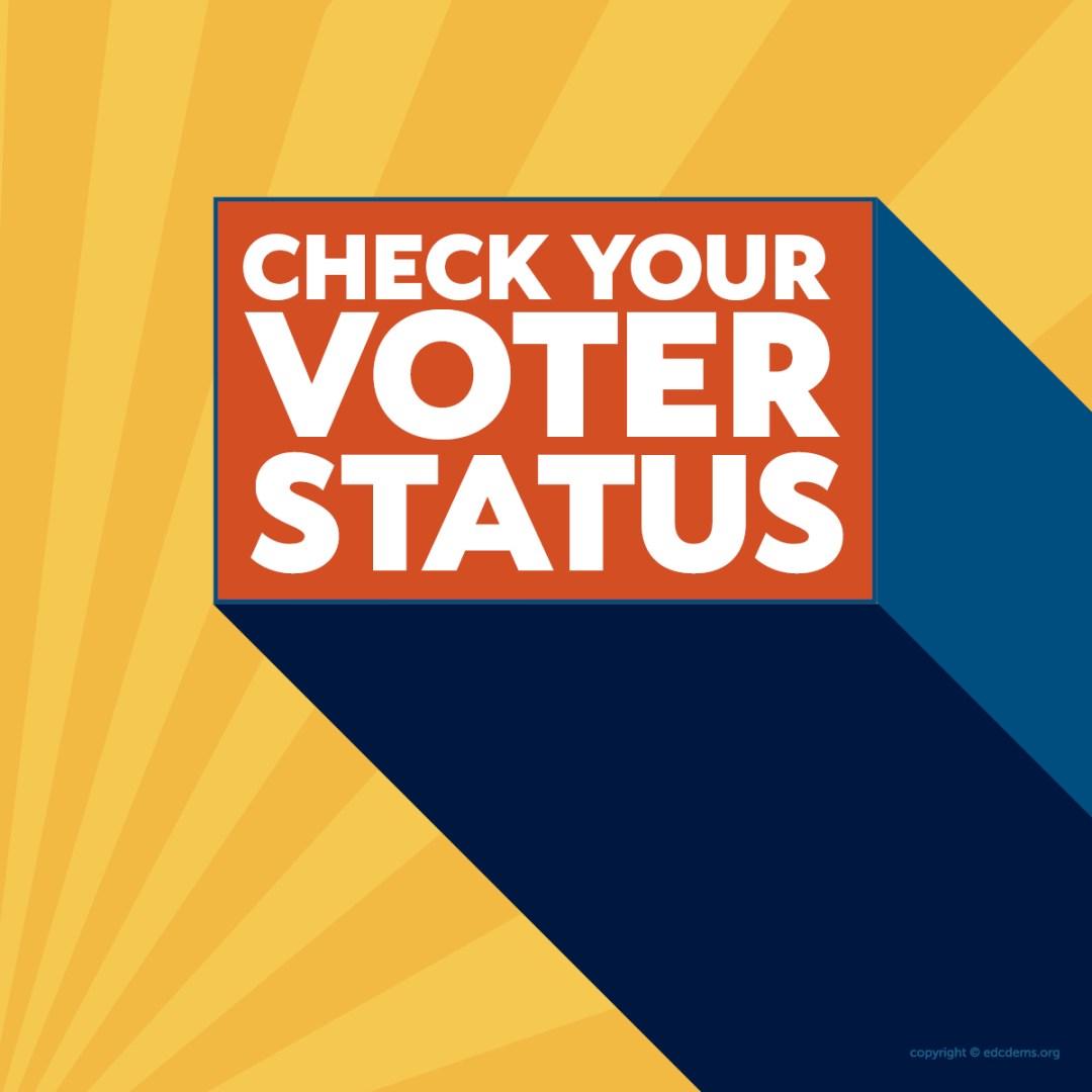 Check You Voter Status