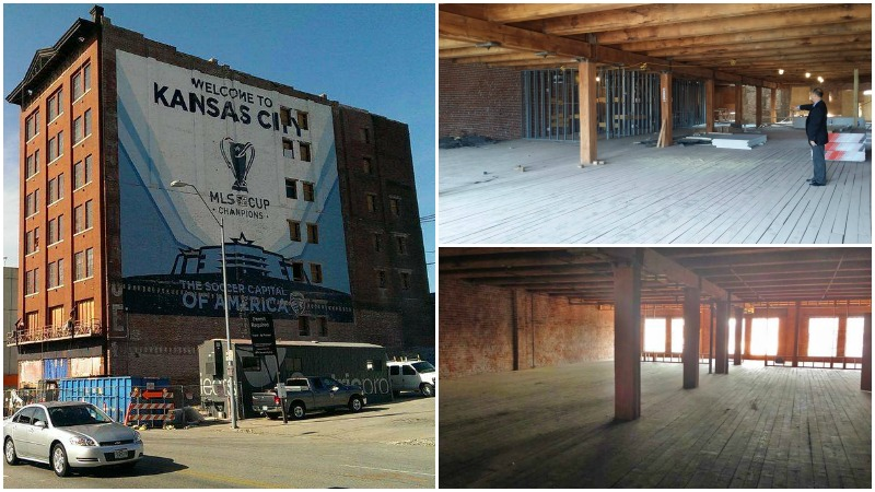 Globe building Kansas City