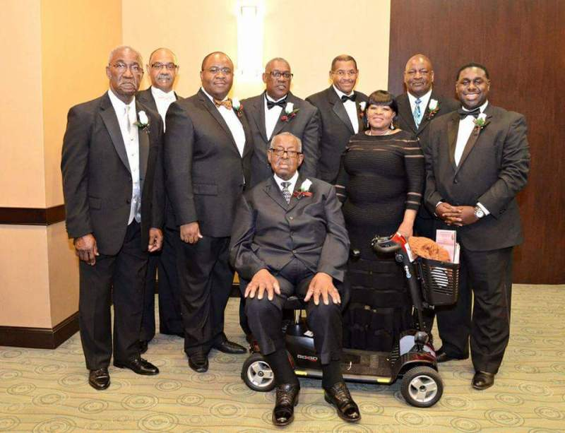 The EDYC Presidents: Center: Elder Dr. Samuel Kendrick, Visionary From left to right: Bro. Edward Hicks (1968-1972 & 1974-1976) Deacon Johnny Sykes (1989-1996) Elder Lamont Sellers (2001-2003) Elder Julius Riddick (1985-1988) Bishop Maurice Nicholson (Presiding Officer) Deaconess Cynthia I. Broxton (2004-2009) Bishop Carey Brown (1977-1984) Deacon Steven L. Hill (2010- Present) Min. Wade Robinson (1973** Not pictured) First Lady Vondrenna Martino (1997-2000 ** Not Pictured)