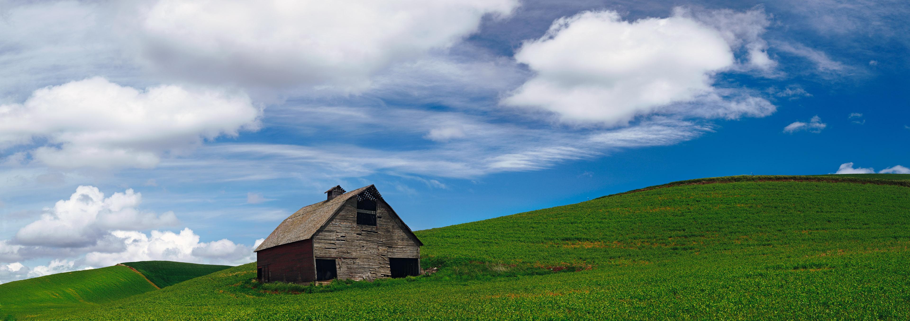 Gil's Barn, Palouse region of Southeast Washington