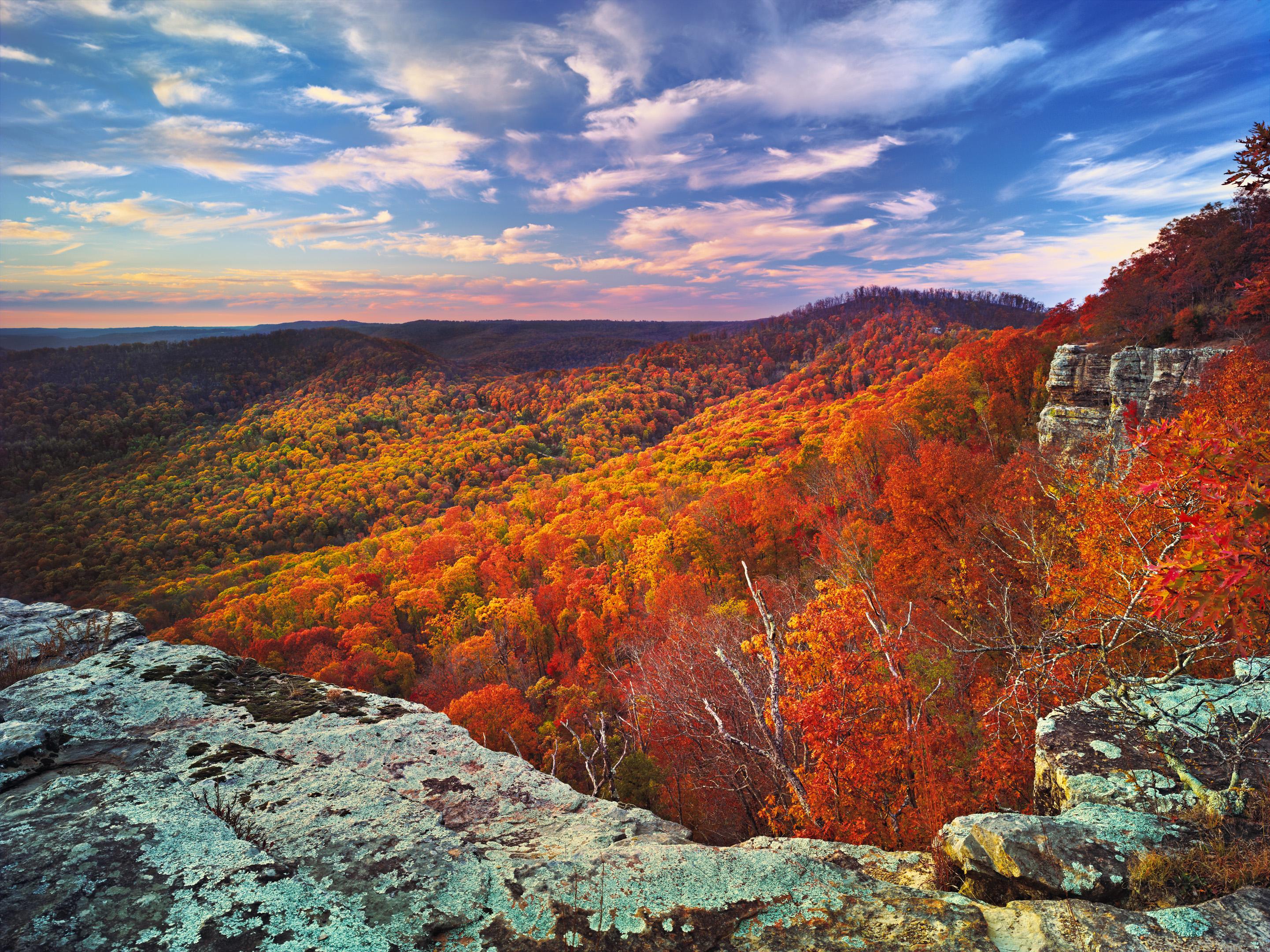 White Rock Autumn, Ozark National Forest, Arkansas