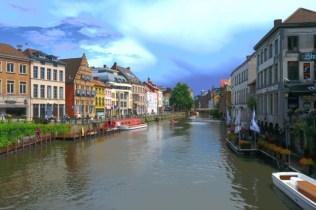 Riverside in Ghent