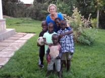 Erna Puri-Gasser mit Freunden