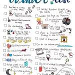 Winter Dream List