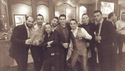 DJ Eddie with friends