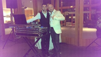 DJ Eddie at Randa & Morees Engagement 3