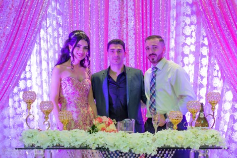 William & Dalya with DJ Eddie
