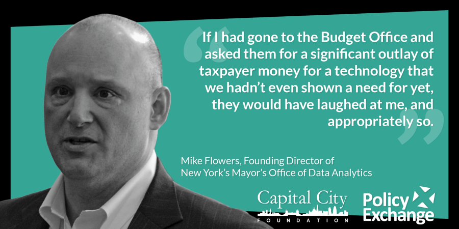 Mike Flowers Quote - If I had gone to the Budget Office