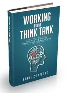Working for a think tank book