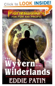 Check out the 'Planeswalking for Fun and Profit' series for some weird fantasy scifi about MONSTER HUNTING across multiple universes!
