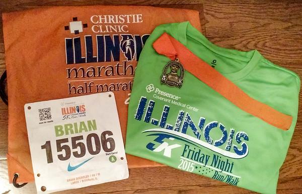 Illinois Marathon 2015