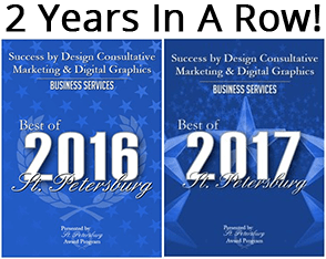 Success by Design, Best of St. Petersburg, FL 2016 and 2017