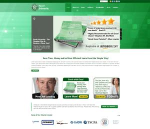 Excel University Homepage