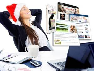 FREE Online Quiz or Questionnaire with the order of a website by Dec. 30, 2014