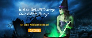 Is your website scaring your visitors away?