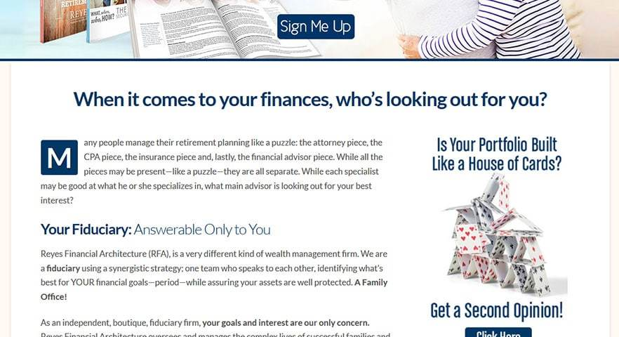 Reyes Financial Architecture