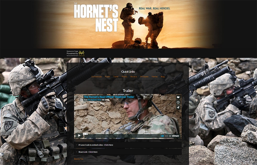 The Hornets Nest Movie