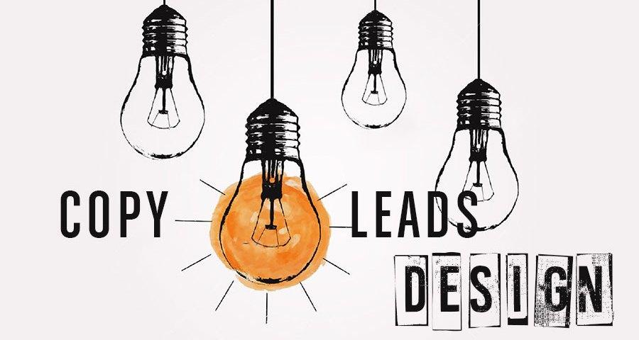 Copywriting leads good design