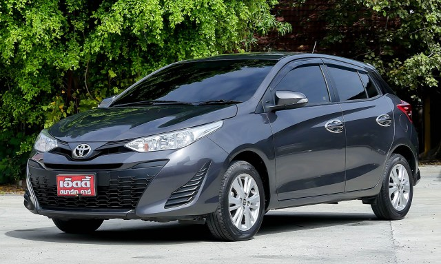 Toyota Yaris 1.2 E 5 Dr / AT ปี 2018