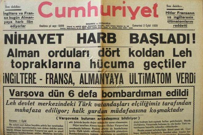 İkinci Dünya Savaşı'nın Türk Edebiyatı'na Etkisi