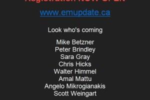 EM Update in Toronto, Week of April 23