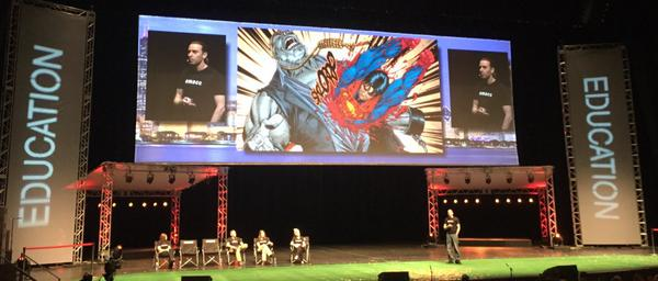 Hinds talking at SMACC