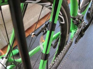 Bicycle Computer Sensor Rear Wheel Adaptation