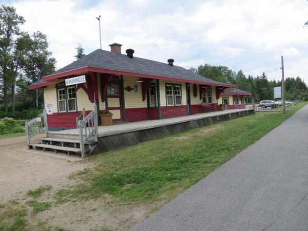 P'tit Train du Nord - Historic Railroad Station, Nominingue