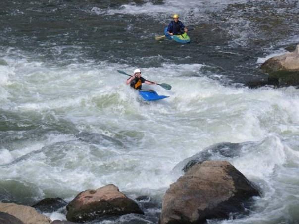Kayaking at Great Falls